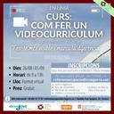 Curs: Com fer un videocurriculum (2ª part)