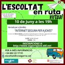 """Xerrada """"Internet segura per a joves"""" a càrrec de Mercè Molist"""