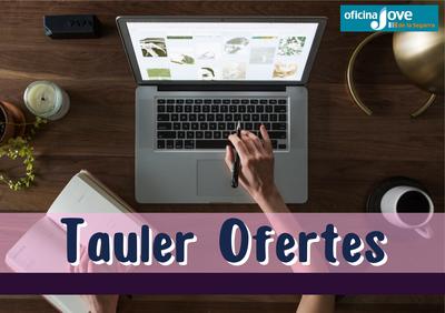 TAULELL D'OFERTES DE TREBALL I FORMATIVES