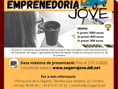 18 edició del Premi Emprenedoria Jove