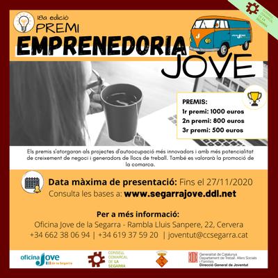 18a edició del Premi Emprenedoria Jove