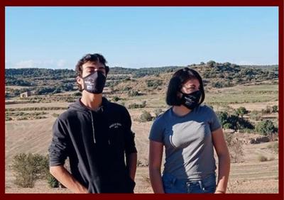 L'Oficina jove de la Segarra reparteix mascaretes a 17 municipis de la comarca