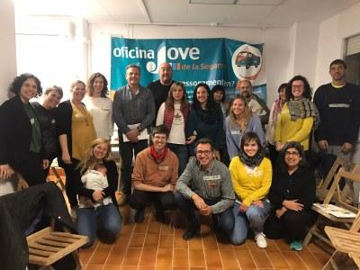 Trobada de regidores i regidors de Joventut de la Segarra per posar en comú les necessitats de la joventut de la comarca