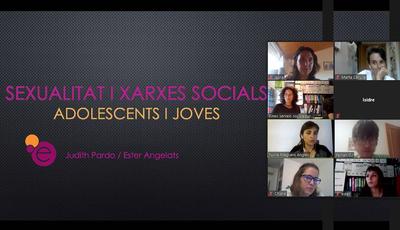 """Xerrada """"La sexualitat i les xarxes socials"""" a càrrec de Cooperativa Eines"""